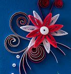 Quilling small card
