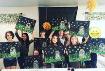 Social Artworking Fun {my parties}