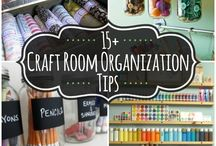 Art Craft Sewing Room / Organization and ideas for my small space.
