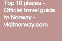Places to visit: Norway