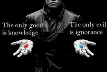 "THE MATRIX / ""You have to understand… Most people are not ready to be unplugged and many of them are so inured, so hopelessly dependent on the system, that they will fight to protect it.""