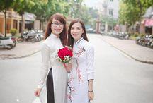 Ao dai - Vietnam traditional dress