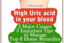 uric acid cure