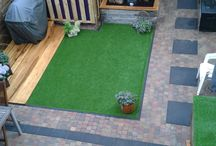 Backyard / achtertuin / inrichten tuin
