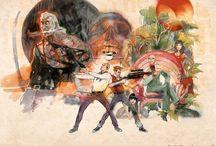 Bill Sienkiewicz Art