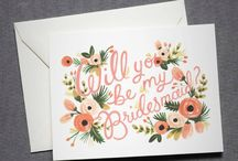 Wedding Stationery / I love fonts and textures. Here are some favourites