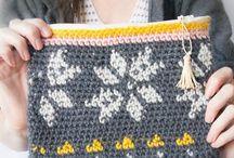 design stitches with chrochet