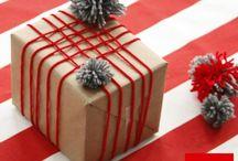 grandes ideas para envolver regalos en navidad / Te proponemos algunas ideas para que envuelvas de manera elegante y creativa tus regalos... + info en nuestro blog: http://papeleria-segarra.blogspot.com.es/2013/11/ideas-para-envolver-regalos.html