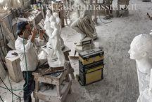 Ditta Massimo Galleni scultore / sculture in marmo