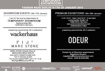 Berlin Fashion Week - Aw14/15 / We present the autumn/winter 2014 collections of WACKERHAUS and MARC STONE at Temporary Showroom and ODEUR autumn/winter 2014 collection at PREMIUM DISSONANCE AREA  Booth D-14!