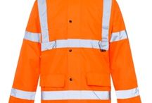 Hi Vis Orange Jackets