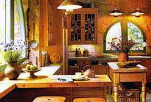 Kitchen walls