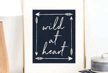 Quotes for Home / Decorate your home with inspiration artwork that has special meaning to you.