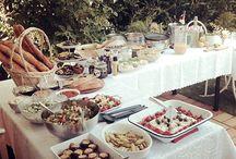 Party in garden