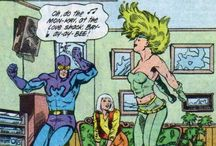 The One True Justice League / a celebration of Justice League International, especially my favourite characters from the late 80's - early 90's: Blue Beetle (Ted Kord), Booster Gold, Fire & Ice. Maybe even a little Guy Gardner. / by Tansy Rayner Roberts