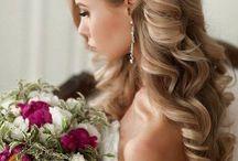 Gelin ve düğün saç modelleri