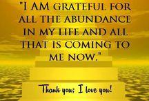 My affirmations!