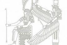Egyiptomi színezők