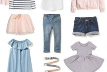 Capsule wardrobe for the Girls