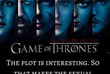 Shame of Thrones / The sexual scenes Game of Thrones are so central to its plot that the show should be more aptly named Shame of Thrones: Where Rape and Sexual Violence is King. HBO's Game of Thrones is brimming with pornographic sex scenes, awash in misogynistic dialogue, and bloated with depictions of sexual violence and torture so savage as to be unrivaled in television history.  http://endsexualexploitation.org/gameofthrones/