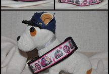 Collars / Handmade collars for dogs with grosgrain ribbons