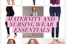 Breastfeeding fashion / Beautiful clothes for breastfeeding mums. Nursing dresses and tops