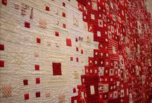 Patchwork - Red and White Quilt