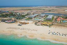 Where you can find us / Localização Hotéis Oásis Atlântico, Cabo Verde