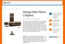 Mirage Hair Fibers ( 25gms) / Mirage color matched hair fibers will intertwine with your hair.  MIRAGE is a unique complex of 100% pure Organic Keratin protein. These microscopic hair fibers build upon your existing hair.