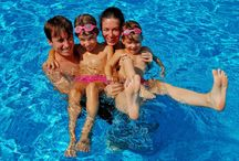 Family fun at Elounda Gulf Villas / From a romantic #holiday to lots of quality time with your #family, Elounda Gulf Villas has it all! Plan your stay with us this summer and experience unforgettable family holidays in #Crete! http://goo.gl/1cjs0e
