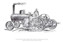 Ploughing engines - illustrations