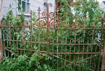 Ijzeren tuinhekken