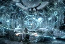 """Prometheus / Ridley Scott, director de """"Alien"""" y """"Blade Runner"""", vuelve al género que ayudó a crear. Con PROMETHEUS, crea una extraordinaria mitología, en la que un equipo de exploradores descubren la pista del origen de la raza humana en la tierra, llevándoles a un misterioro viaje a los más oscuros lugares del universo. Ahí, tendrán que luchar una dura batalla para salvar el futuro de la raza humana."""