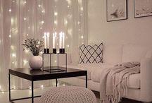 Light up curtain DIY