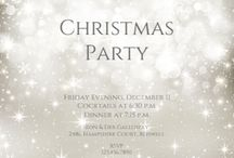 christmas party invitations template