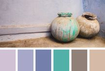 Colour palettes / Ideas for colours to use