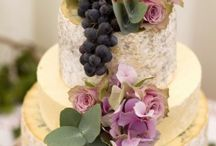 Cheese stack wedding cakes
