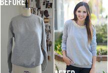 MODA metamorfozy, przeróbki DIY  clothes