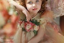 Indoor fairy photo-shoot