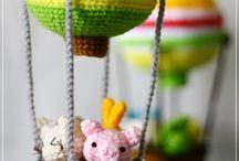 игрушки - вязание , фом и т.д.