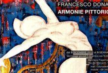 Exhibition in Milan - 05/12/2013 / Armonie Pittoriche - pictorial harmonies Milan - Barclays Flagship Premier -