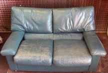 Sofa læder