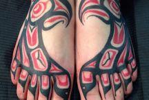 Tetování na chodidlech
