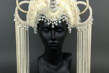 New Headdresses on Etsy / These are the headdresses that are currently available in my Etsy shop.