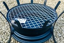 fire pit/grill crafts