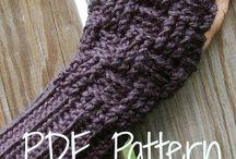 crochet&knit mits
