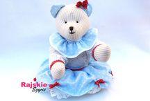 Misie/Teddy bears/handmade