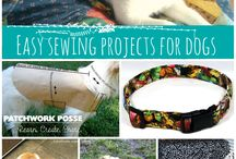 Pet Projects / Sewing projects for your furry bff! #Pets #Dogs #Cats