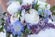 MARIAGE / robe, photos, fleurs, déco pour un mariage romantique