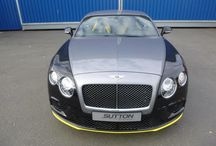 Bentley Continental GT Tri-Colour